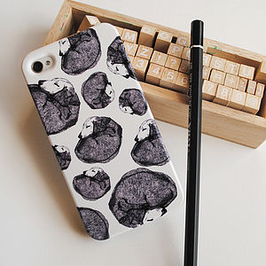 Dachshund Doggy Pattern Phone Case - phone & tablet covers & cases