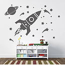 'Children's Space Set' Wall Sticker