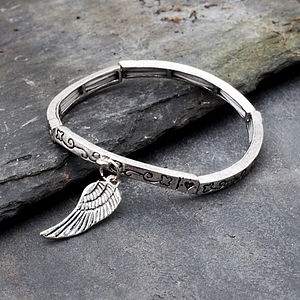 Adele Feather Bracelet - bracelets & bangles