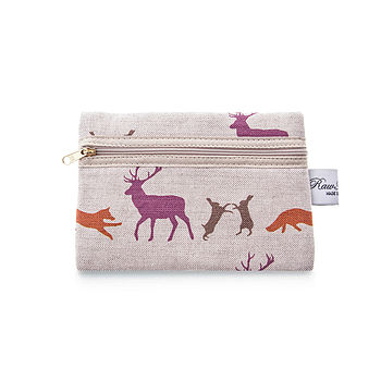 Animals Zip Purse