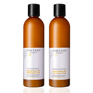 Nurturing Organic Shampoo And Conditioner Duo - hair care