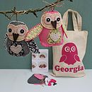 Personalised Owl Decorations Craft Kit