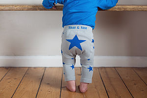 Boys Star Leggings - trousers & leggings