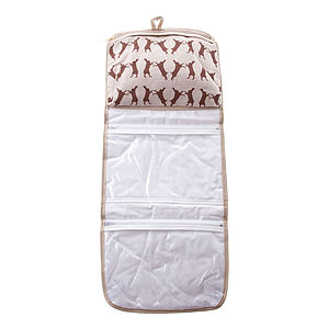 Boxing Hare Hang Up Toiletries Bag - make-up & wash bags