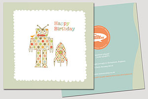 'Another Planet' Birthday Card