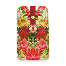 Leather Phone Case Roses
