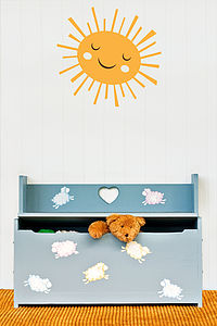 Sun Wall Stickers - home decorating