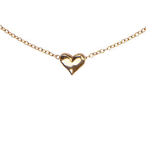 My Delicate Heart Necklace In Gold - necklaces & pendants