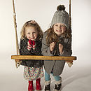 Personalised Oak Rope Swing