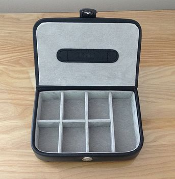 Black Cufflink And Accessory Box