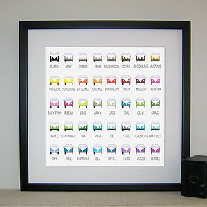 Campervan Colour Palette Print