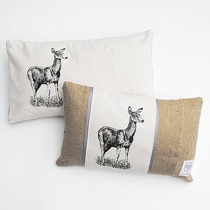 Doe Cushion - living room