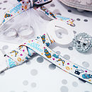 Just Married Woven Ribbon