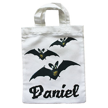 Personalised Trick Or Treat Party Bags