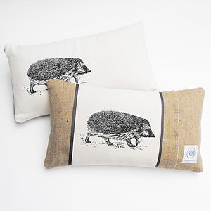 Wandering Hedgehog Cushion