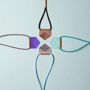 Geo Spike Necklace