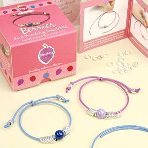Berries Bead Friendship Bracelet Kit - children's accessories