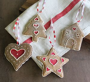Gingerbread Decorations - traditional christmas