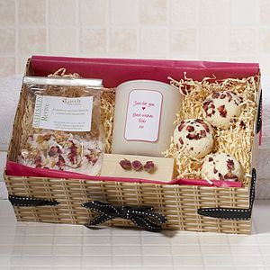 Personalised Aromatherapy Pamper Hamper - gifts under £50 for her