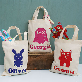 Personalised Animal Activity Mini Shopper Bag