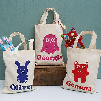 Personalised Animal Activity Mini Shoppers