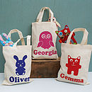 Personalised Animal Bags