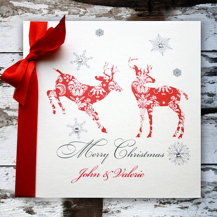 Personalised Christmas Card By Natalie Ryan Design