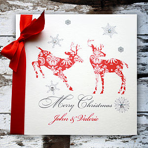 Personalised Christmas Card - cards & wrap