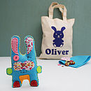 Reggie Rabbit Craft Kit And Personalised Bag