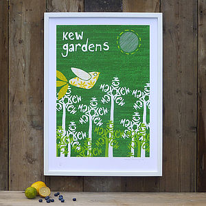 Kew Gardens Screenprint - contemporary art