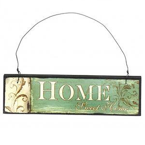 'Home Sweet Home' Quote Wooden Sign
