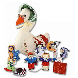 Mother Goose Nursery Rhyme Soft Toy - children's easter
