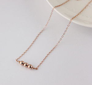 Rose Gold Filled Necklace - necklaces & pendants