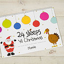 Personalised Advent Activity Book