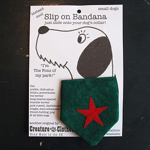 Christmas Star Bandana