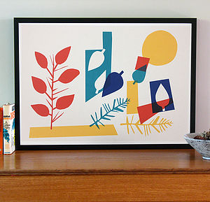 Summer Screen Print - contemporary art
