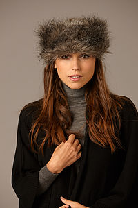 Faux Fur Headband - hats, scarves & gloves