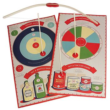 Bow And Arrow Set With Target Boards