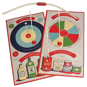 Bow And Arrow Set With Target Boards - outdoor toys & games