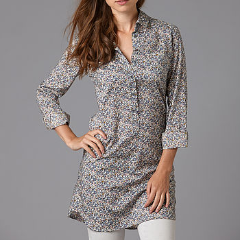 Liberty Print Shirt Dress