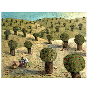 The Orchard Print - canvas prints & art
