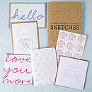 Monthly Gifting Stationery Set