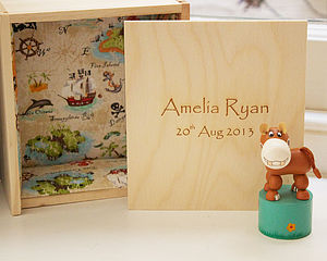 Handcrafted Personalised Wooden Box