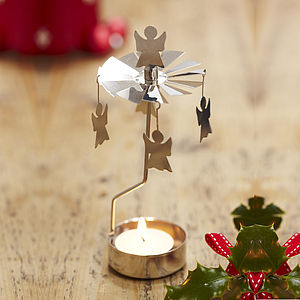Angel Rotary Tea Light - lighting