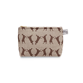 Boxing Hare Classic Cosmetic Bag