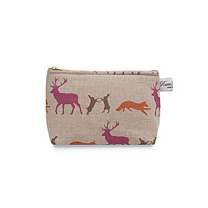 Cosmetic Bag Animals - make-up bags
