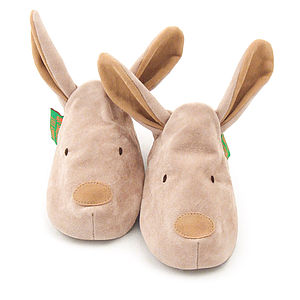 Bunny Rabbit Soft Baby Shoes - children's slippers