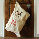 Personalised Santa Christmas Toy Sack