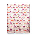 Animals Linen Tea Towel