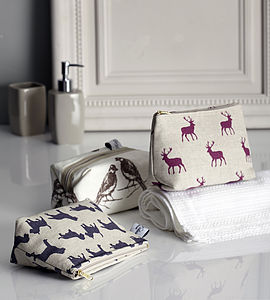 Cosmetic Bag Stag - make-up & wash bags